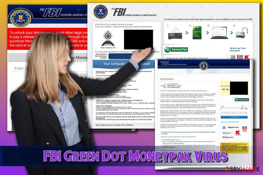 Green Dot Moneypak ransomware