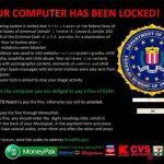FBI Virus Black Screen snapshot