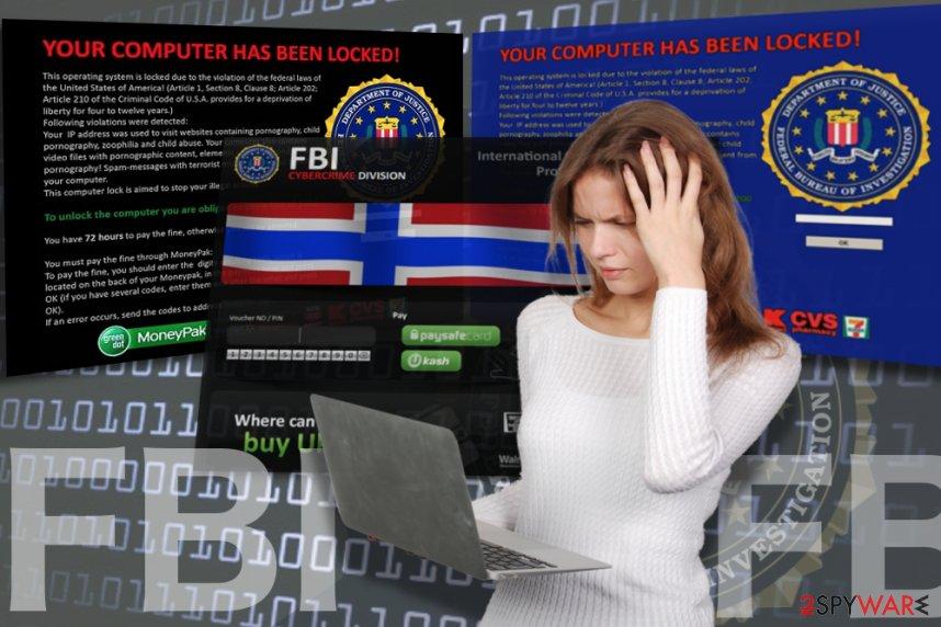 FBI virus (screenlocker)