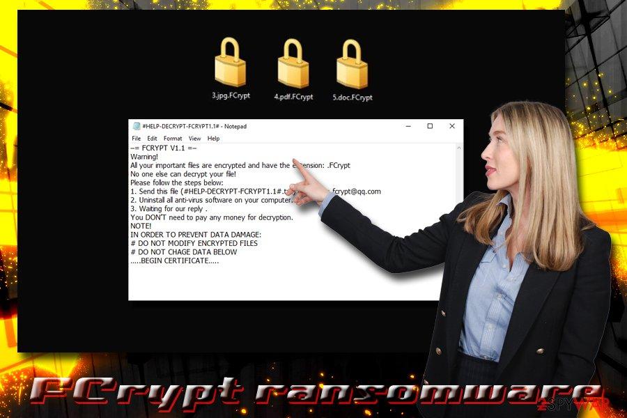 FCrypt ransomware virus