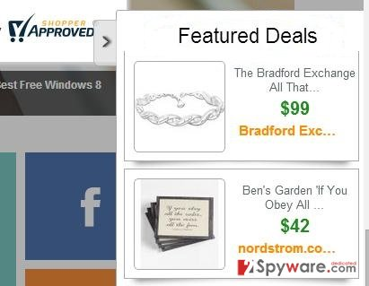 Ads by Featured Deals snapshot