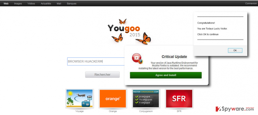Yougoo.fr redirect virus