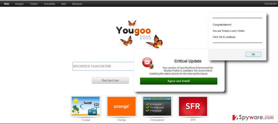 Yougoo.fr redirect virus