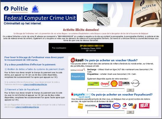 Federal Computer Crime Unit virus