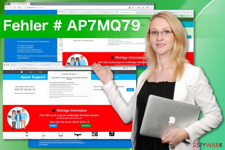 Fehler # AP7MQ79 scam
