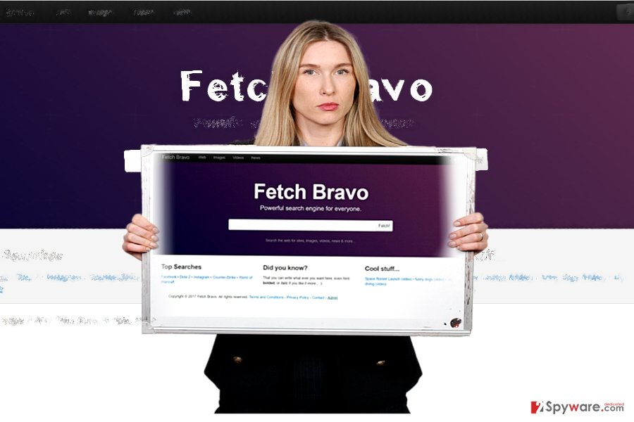 The screenshot of Fetch Bravo