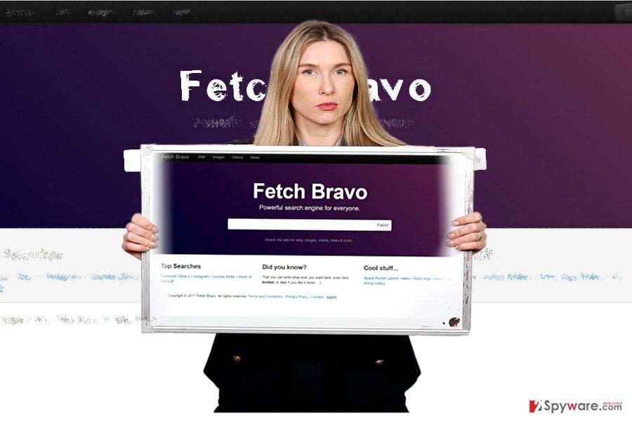 The screenshot of Fetch Bravo