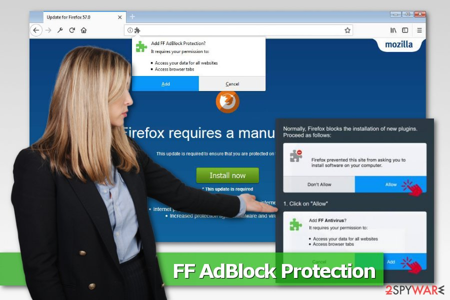 Image of FF AdBlock Protection virus