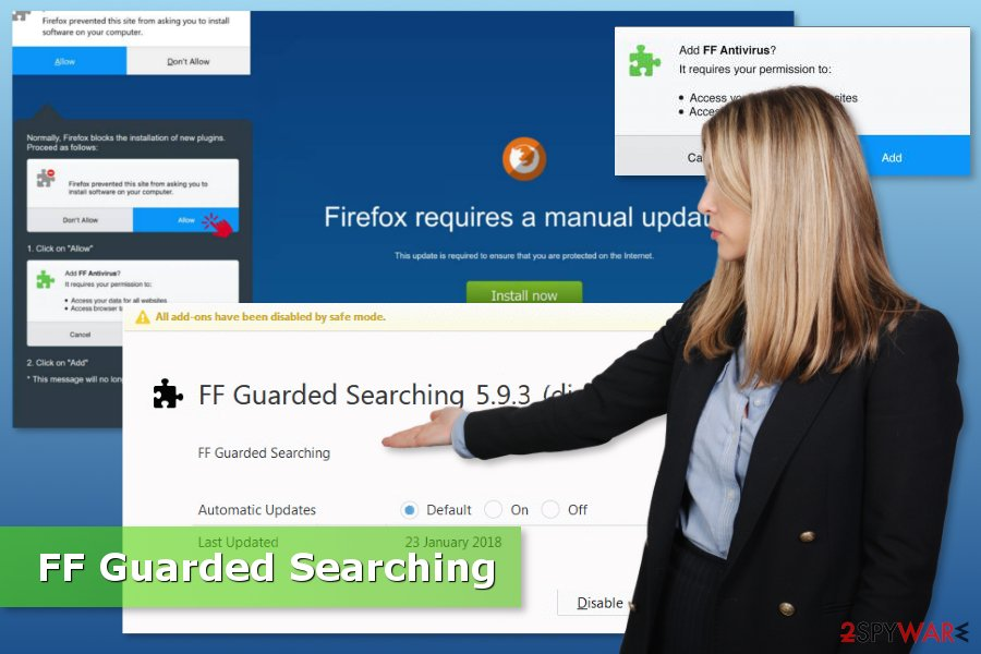 Imange of FF Guarded Searching virus