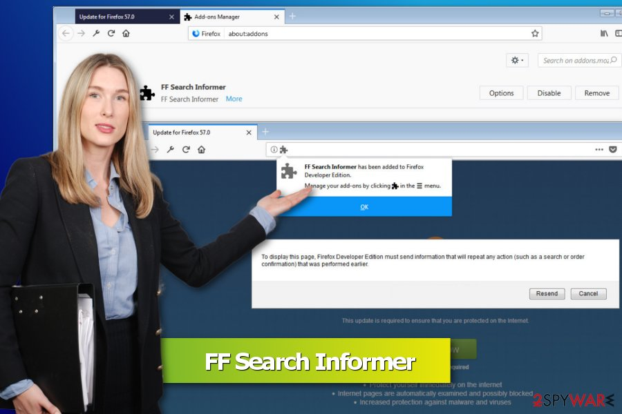 Image of FF Search Informer virus