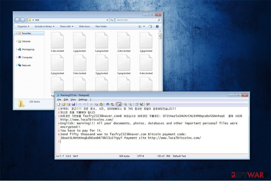 File-Locker ransomware virus image