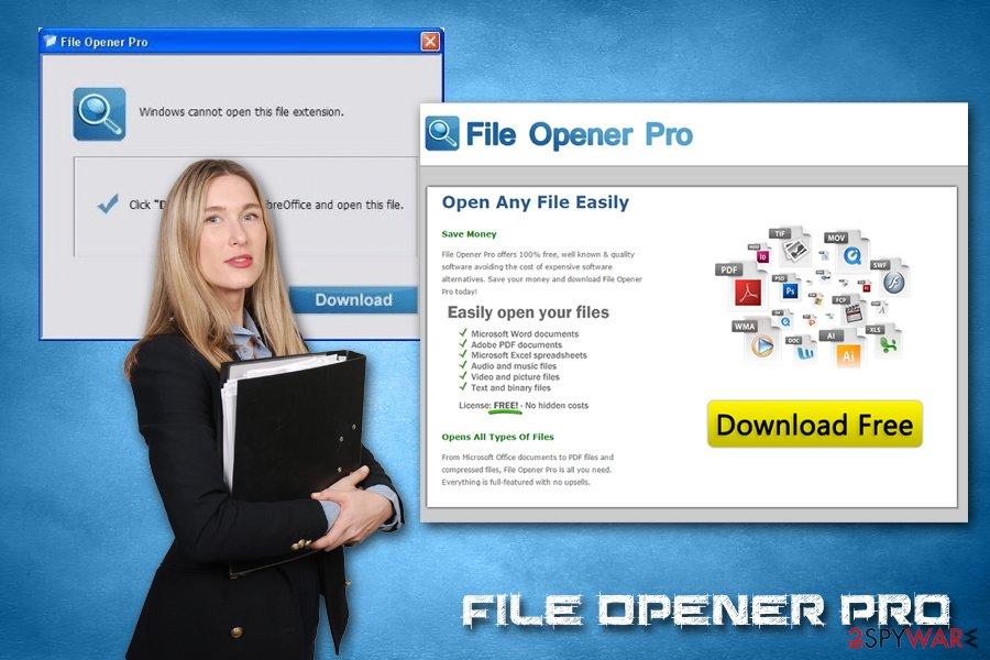 File Opener Pro adware