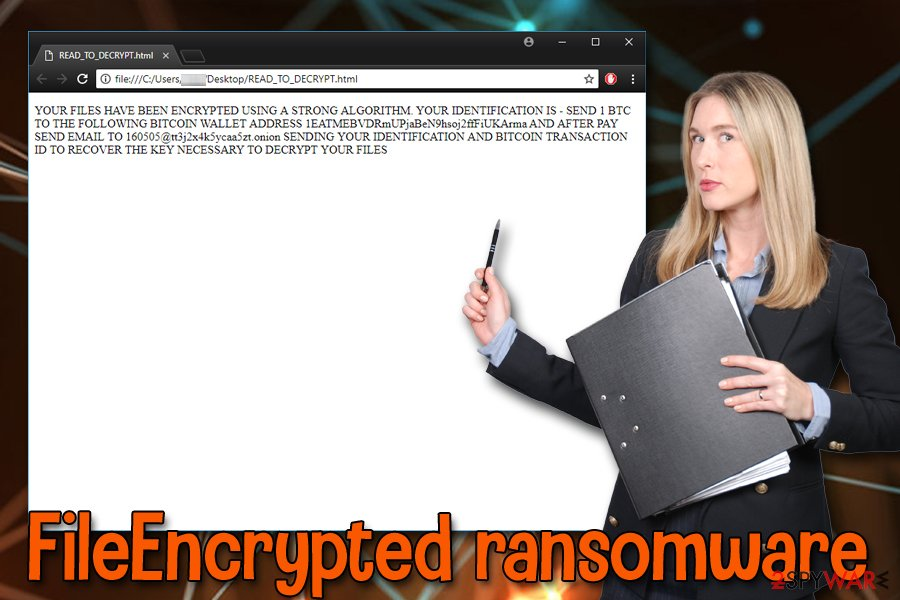 FileEncrypted virus