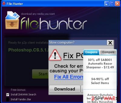 FileHunter removal