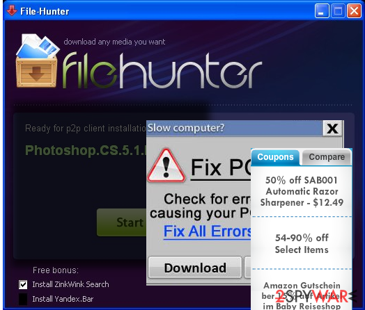 FileHunter removal