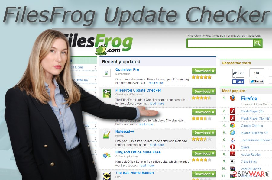 FilesFrog Update Checker