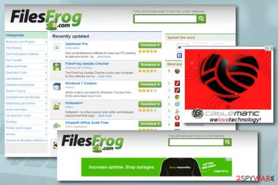 FilesFrog Update Checker adware