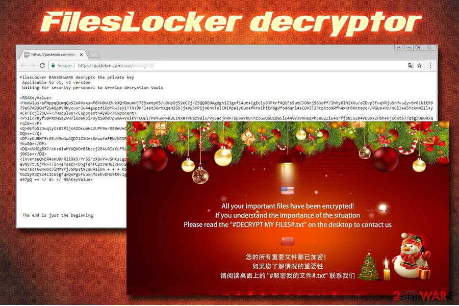 FilesLocker ransomware decryptor