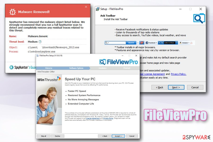 FileViewPro bundles WinThruster