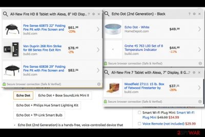 Examples of Find Pro ads