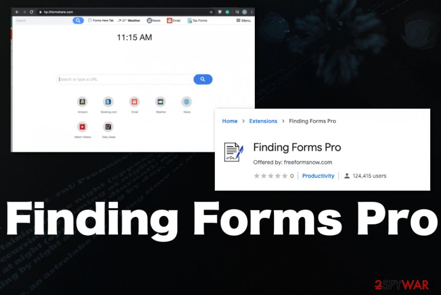 Finding Forms Pro