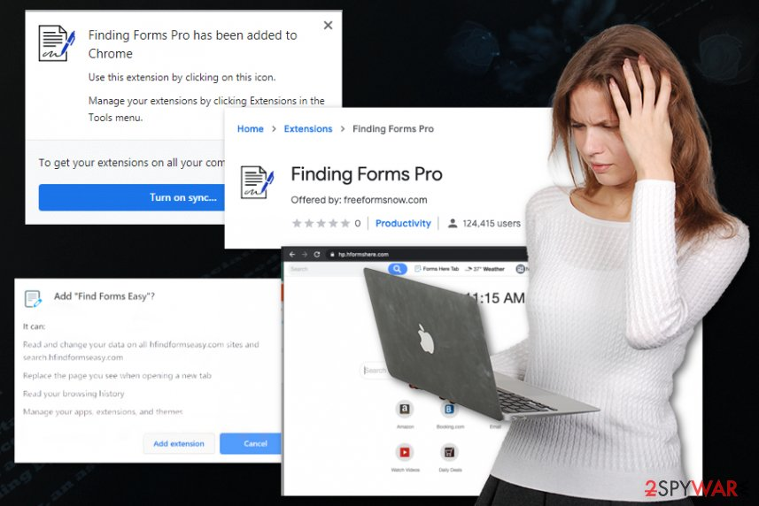 Finding Forms Pro hijacker