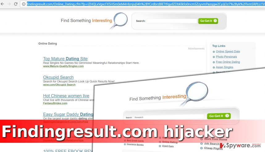 Findingresult.com redirect virus