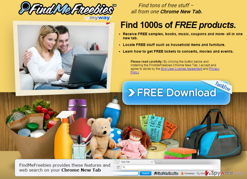 FindMeFreebies Toolbar