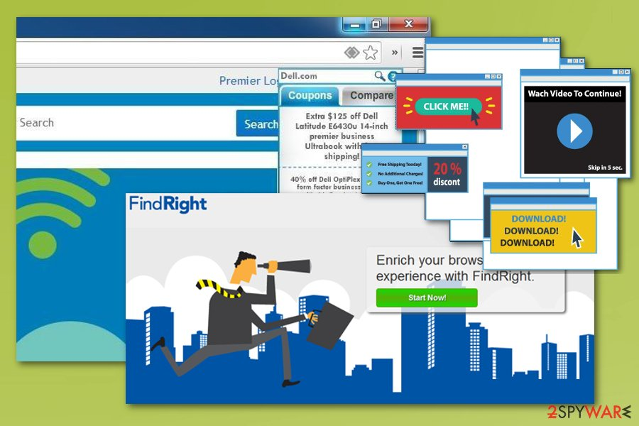 FindRight virus