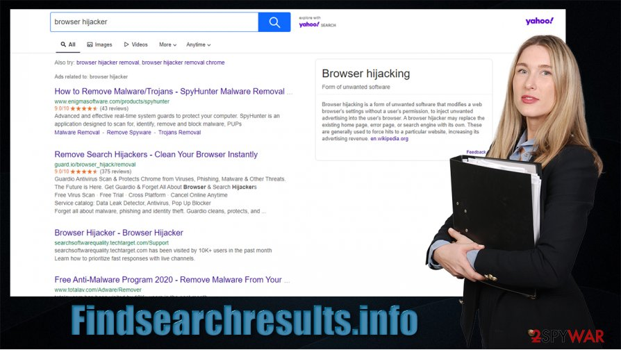 Findsearchresults.info hijack