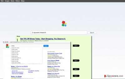 Findwide redirect virus changes the homepage
