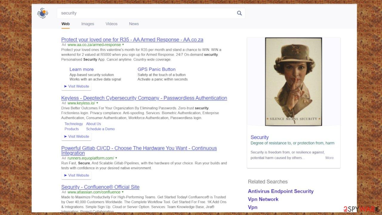 Fire Search browser hijacker