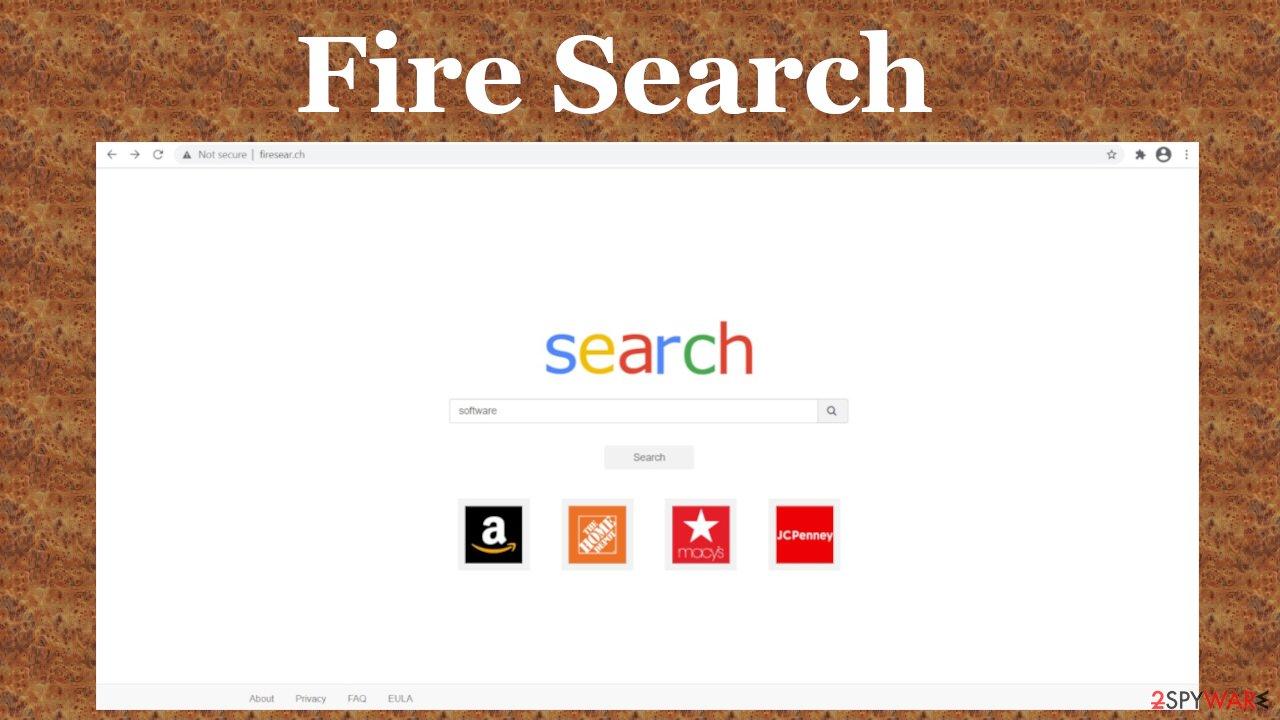 Fire Search virus
