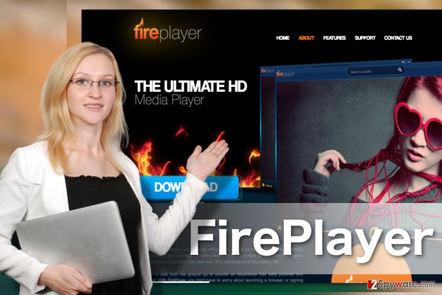 Image of FirePlayer adware virus