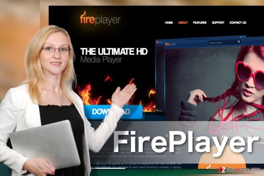 Image of FirePlayer adware virus