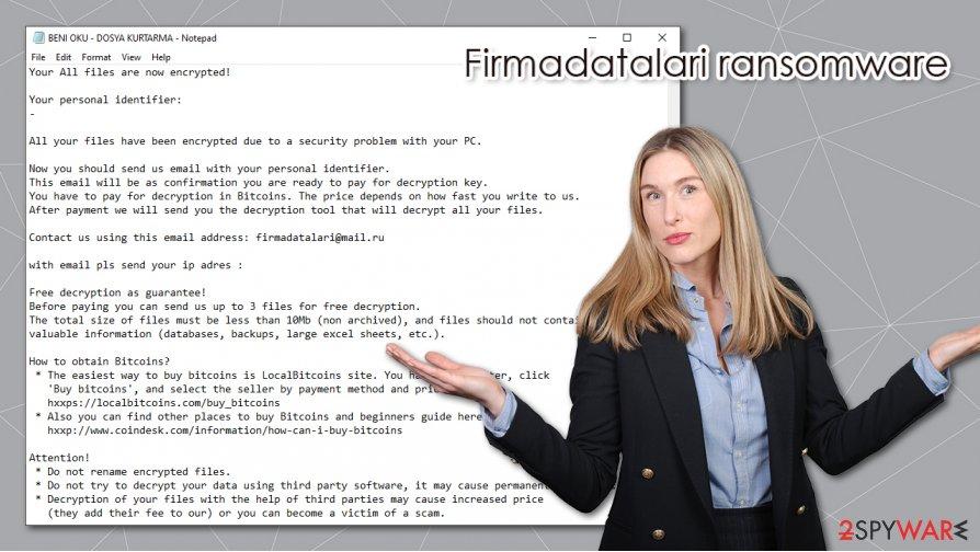 Firmadatalari ransomware virus