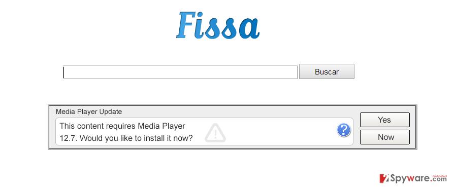 Fissa virus snapshot