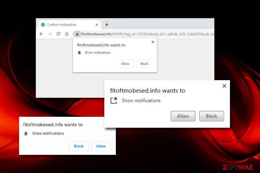 Fitoftmobesed.info push notifications