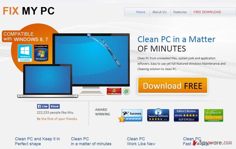 Fix My PC virus