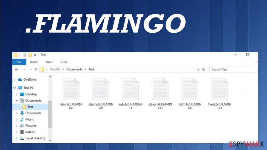 Flamingo file virus