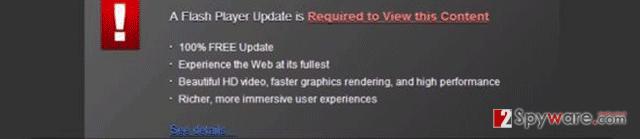 Flash Player update (fake)