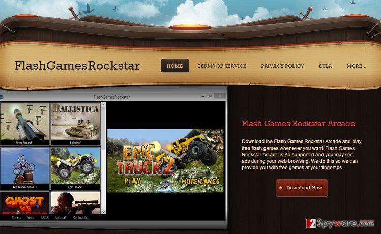 FlashGamesRockstar adware