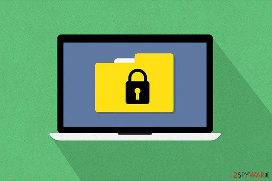 FLKR ransomware virus picture