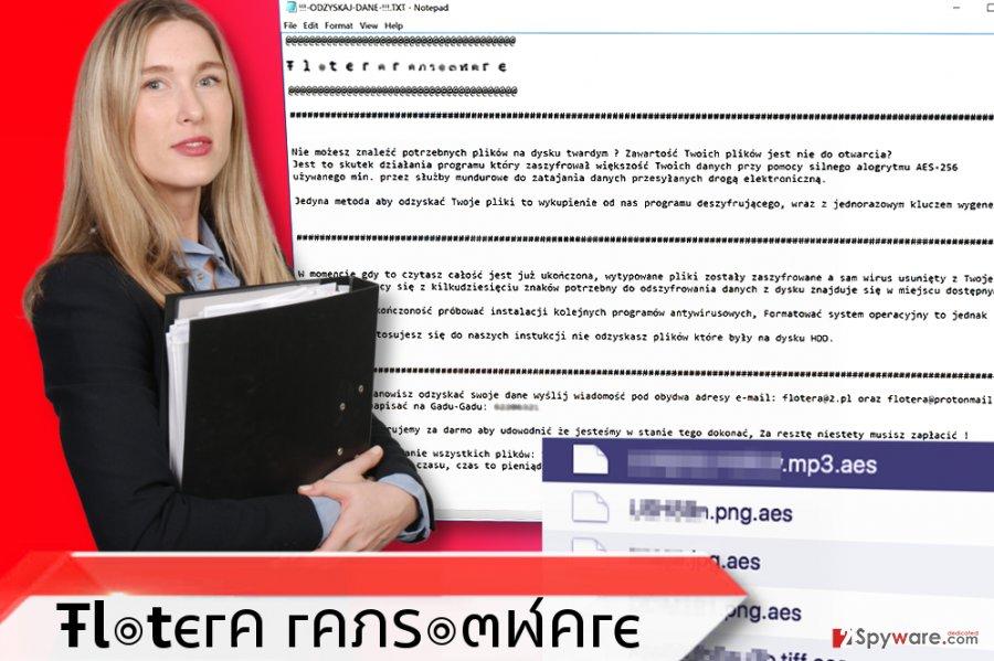Flotera ransomware virus