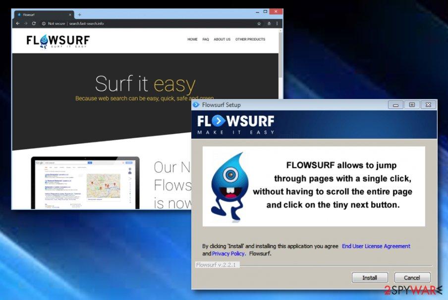 FlowSurf virus