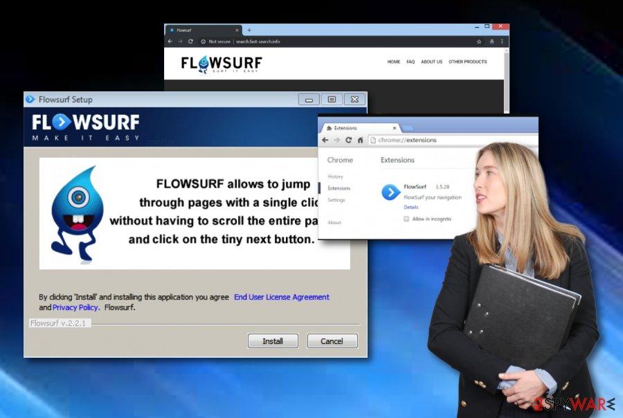 FlowSurf PUP