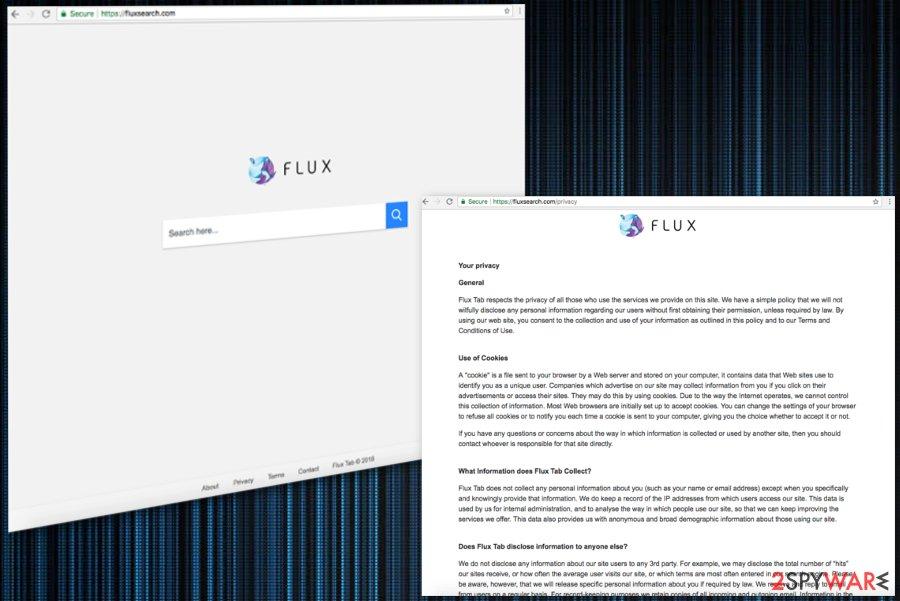 Fluxsearch.com virus