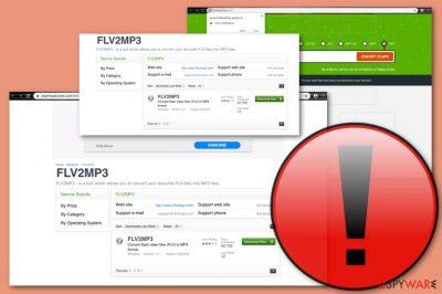 Flv2mp3 adware