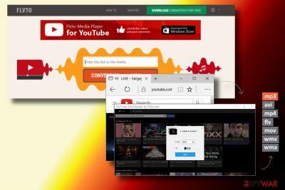 Flvto Youtube Downloader virus