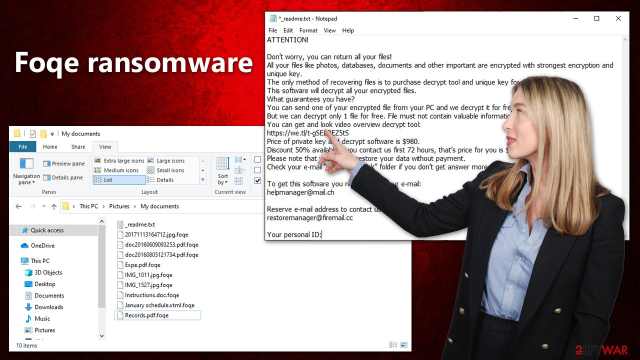 Foqe ransomware virus